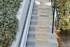 Kültéri lépcsőfelvonó