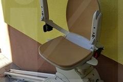 Kültéri széklift