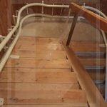 Kanyarodó lépcső felvonó