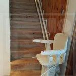 Kanyarodó széklift egyenes indulással