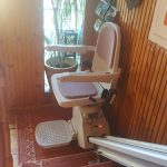 Beltéri egyenes széklift