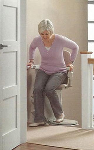 Kiszállás a székliftből
